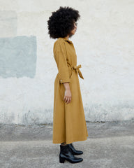MABEL DRESS - GOLDEN CORDUROY