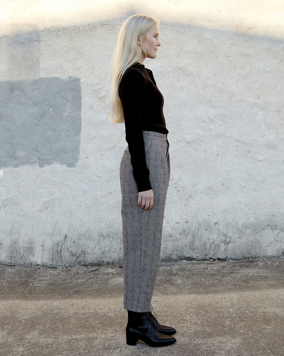 PIPER PANT - WINTER PLAID