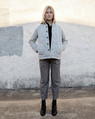 BRENDAN JACKET - LIGHT PEWTER