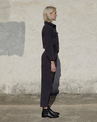 SHAUN JUMPSUIT - DARK CHARCOAL