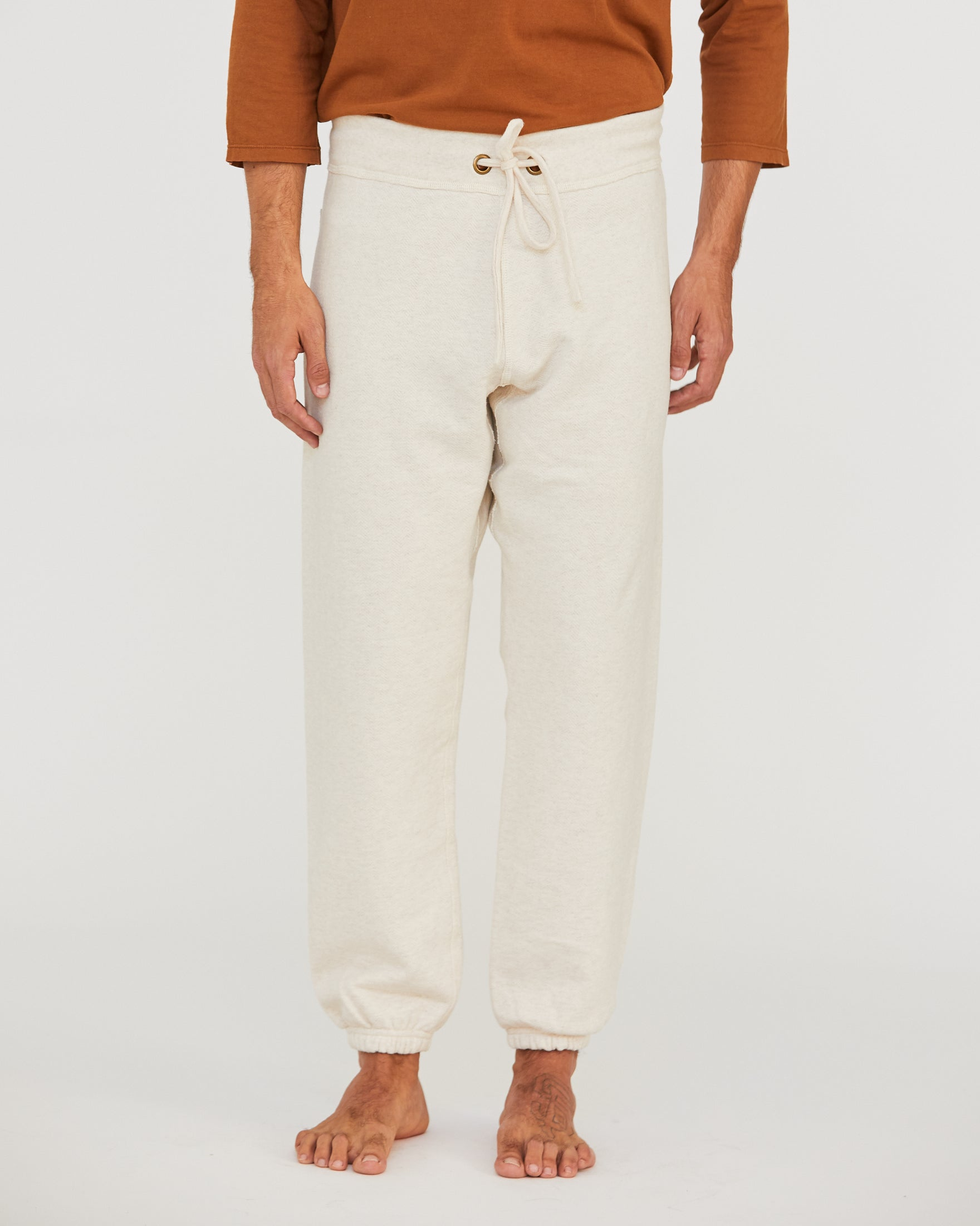 LUCA LEISURE PANT - NATURAL