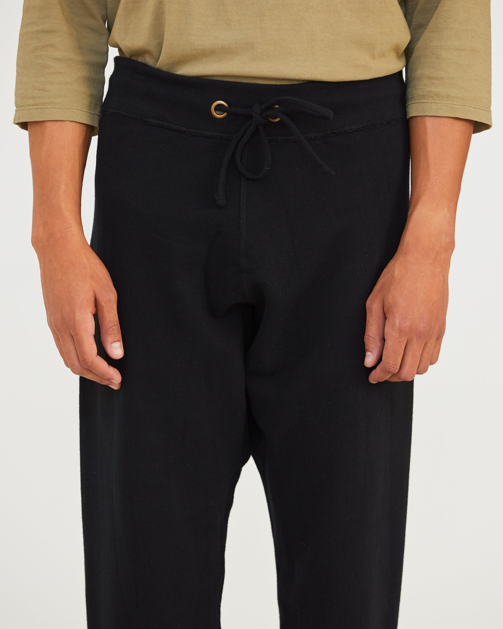 LUCA LEISURE PANT - BLACK