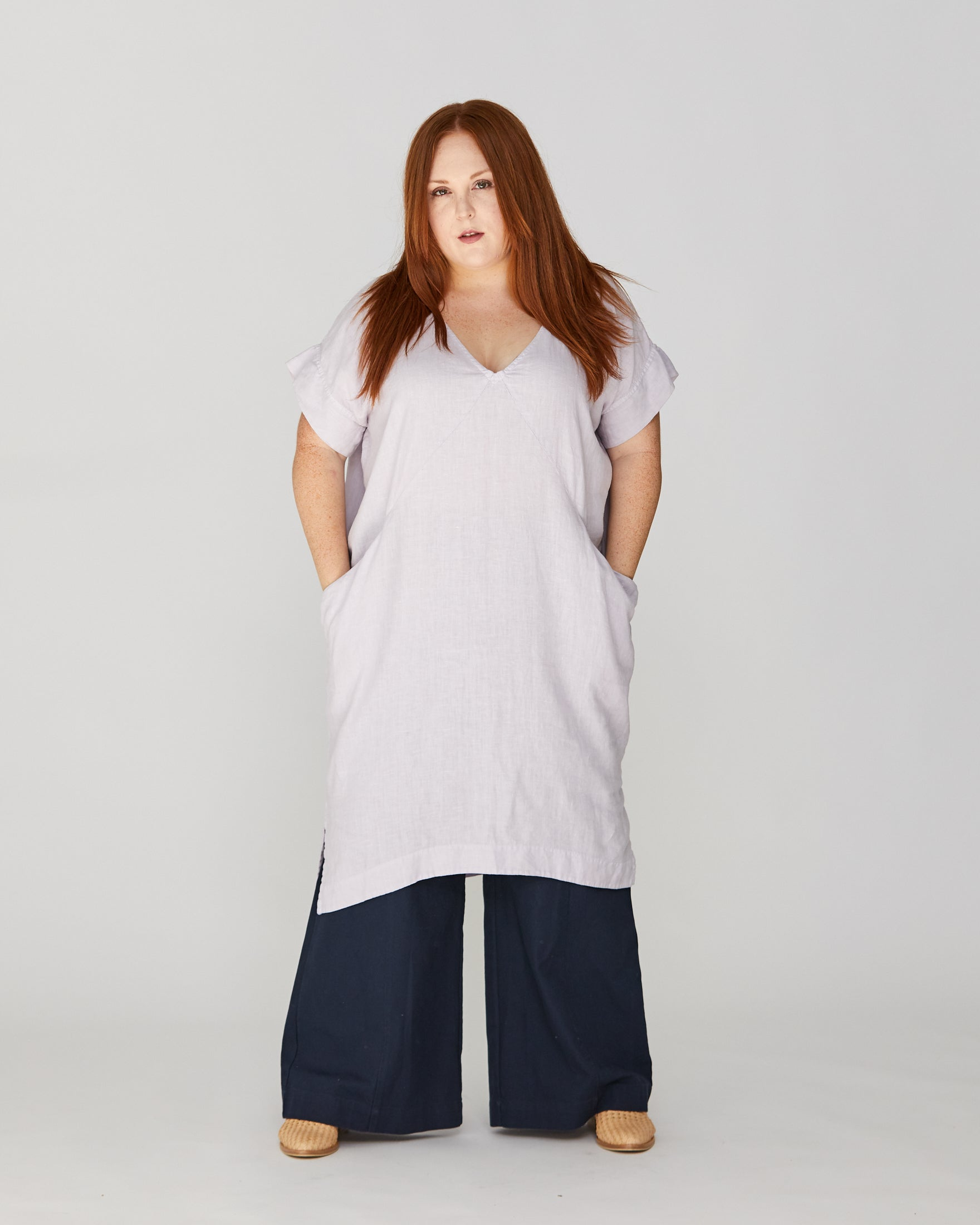 PLUS - ALICE TUNIC - LILAC