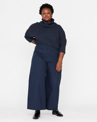PLUS - LUCIA ANKLE PANT - MIDNIGHT