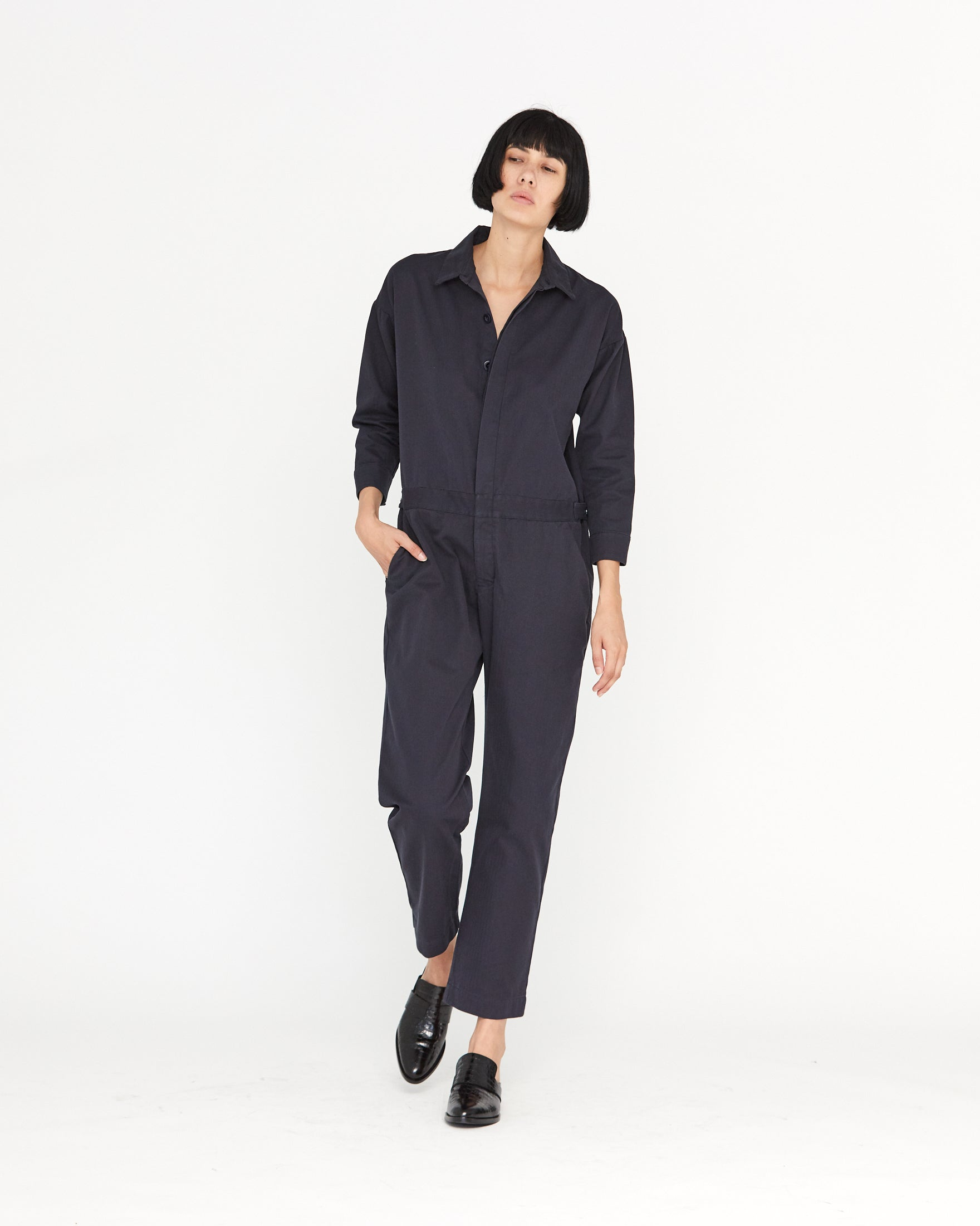 CHARLIE WORKWEAR JUMPER - MIDNIGHT