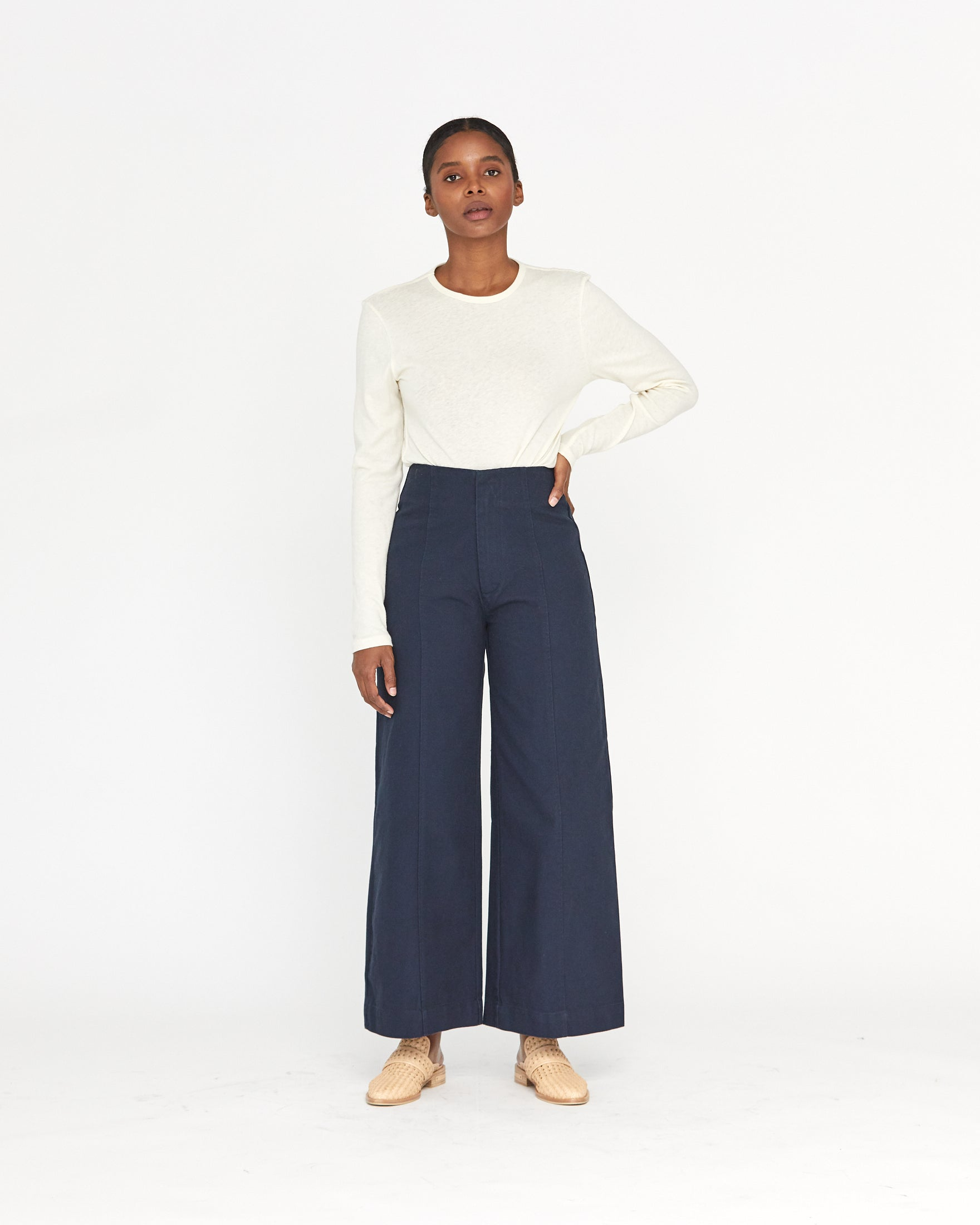 LUCIA ANKLE PANT - MIDNIGHT
