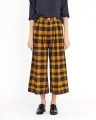 NIKITA CULOTTE - CLOVE/BLACK PLAID