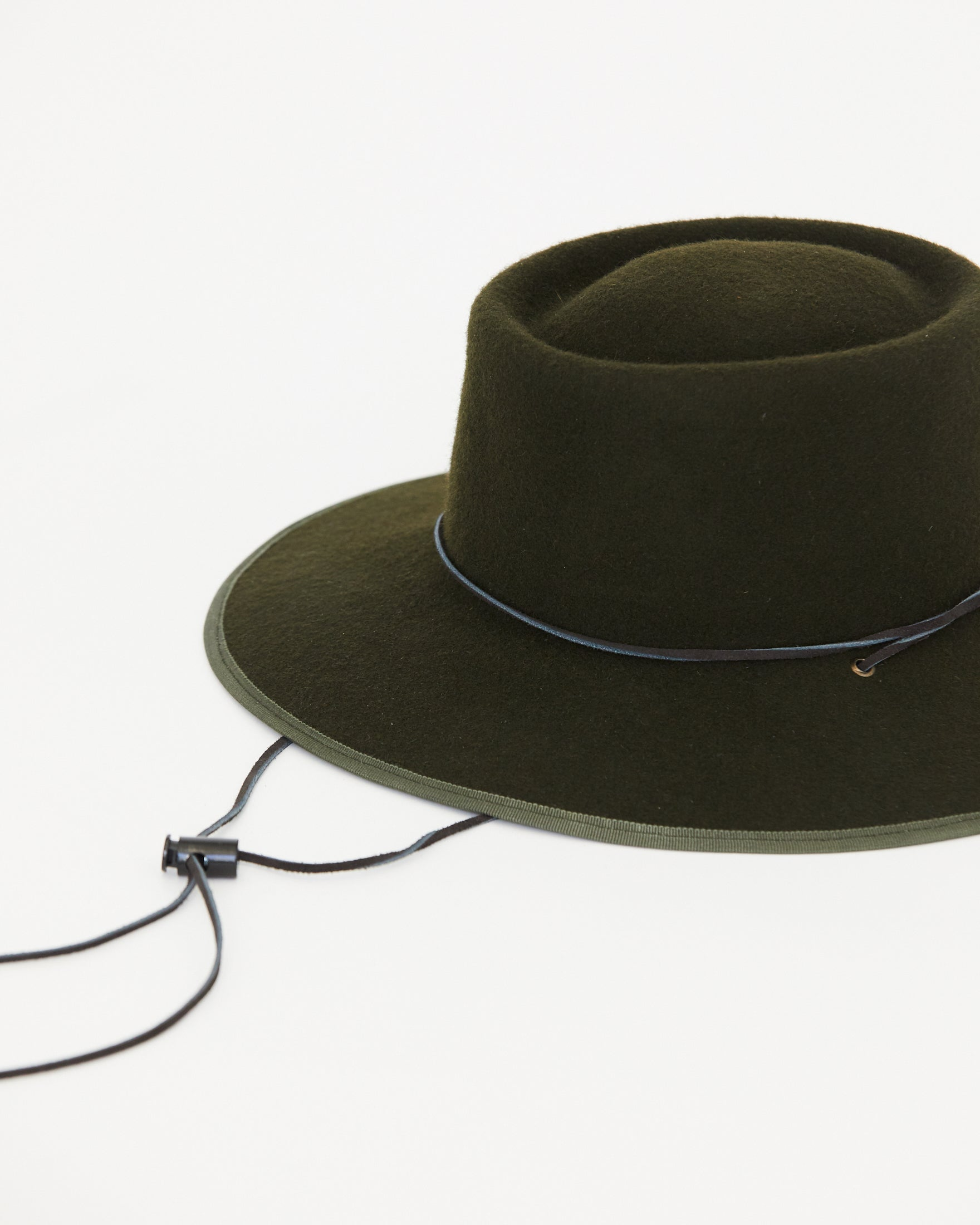 BROOKES BOSWELL - ALDERMAN HAT - LODEN WOOL FELT