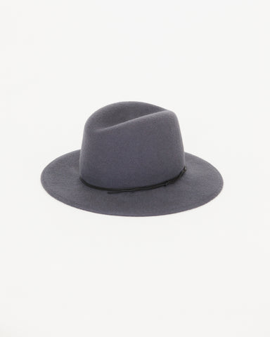 BROOKES BOSWELL - JACKSON HAT - GREY WOOL FELT