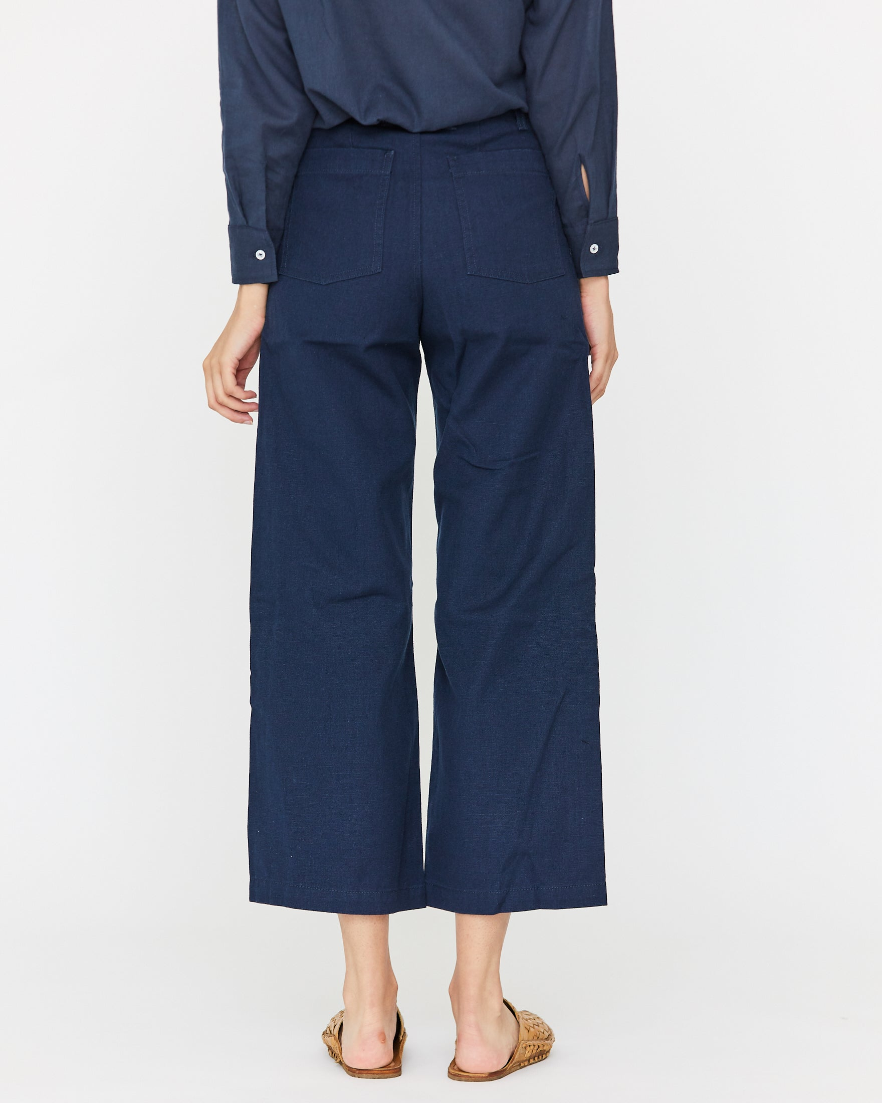 FINCH CANVAS PANT -  MIDNIGHT