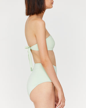 LINDA HIGH WAIST BOTTOM - SEA GLASS