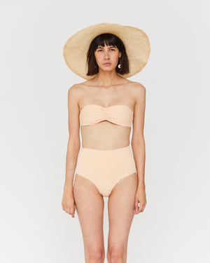 Load image into Gallery viewer, AUDREY BANDEAU TOP - PEARL