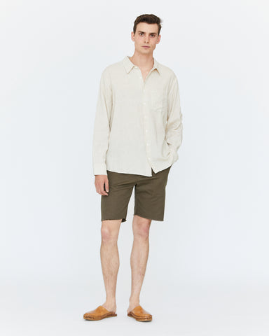 COOPER BUTTON DOWN - NATURAL