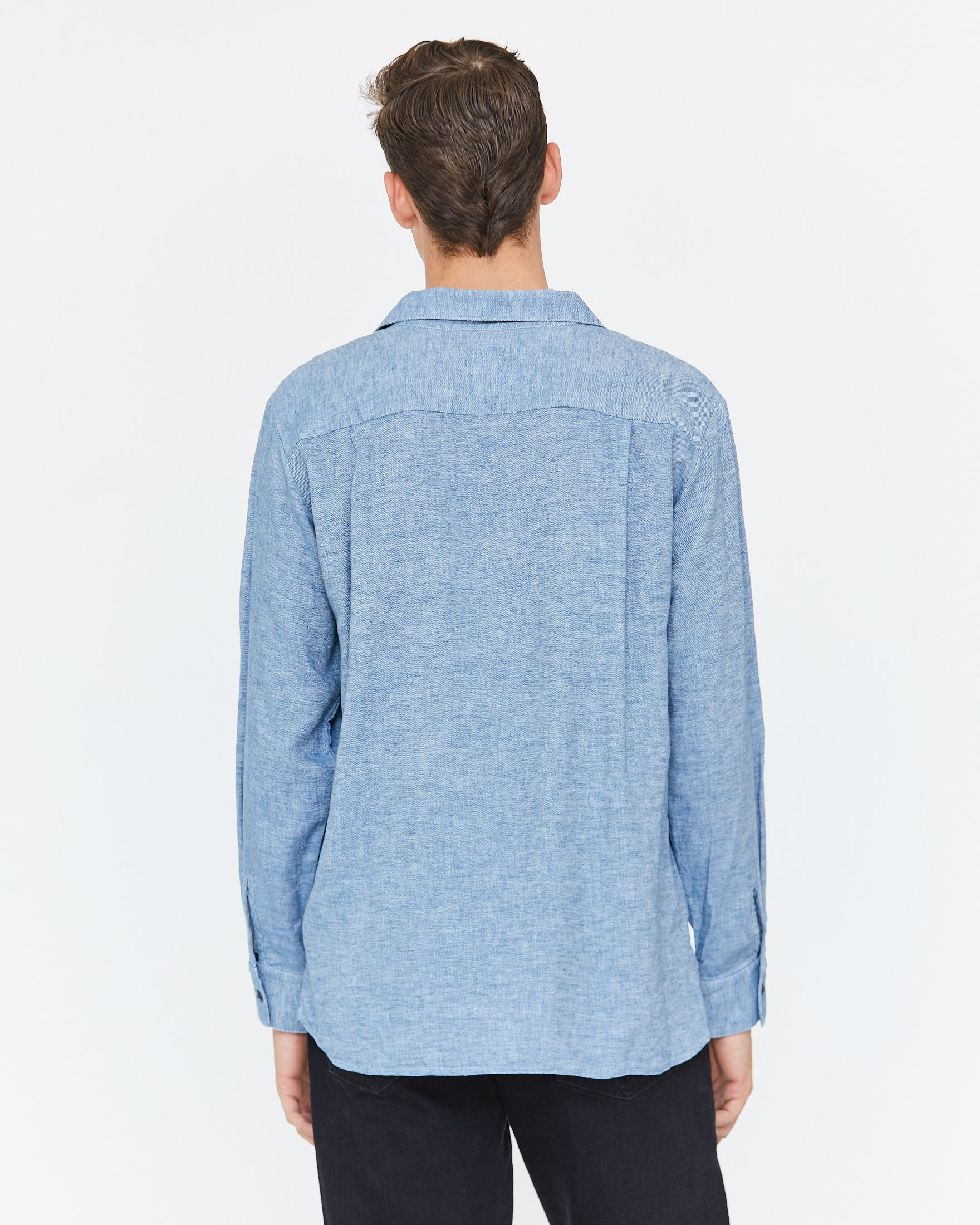 COOPER BUTTON DOWN - OCEAN BLUE