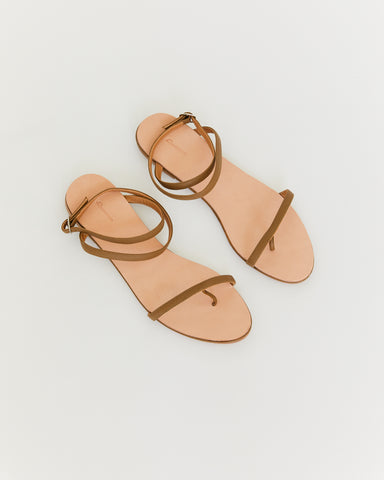 THE PALATINES - CALIDE SANDAL - CYPRESS TEXTURED LEATHER