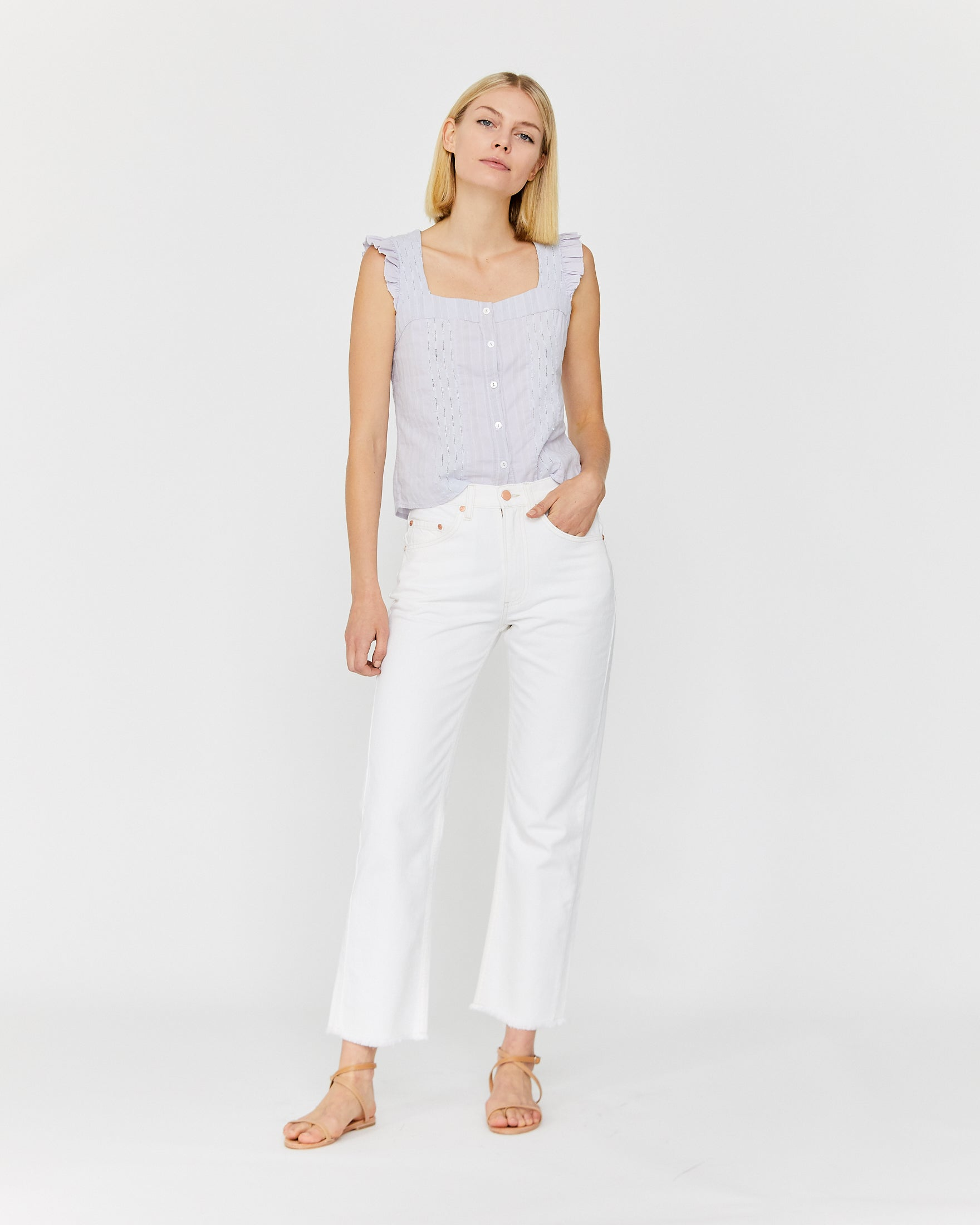 HAYLEY JEAN - NATURAL WASH DENIM