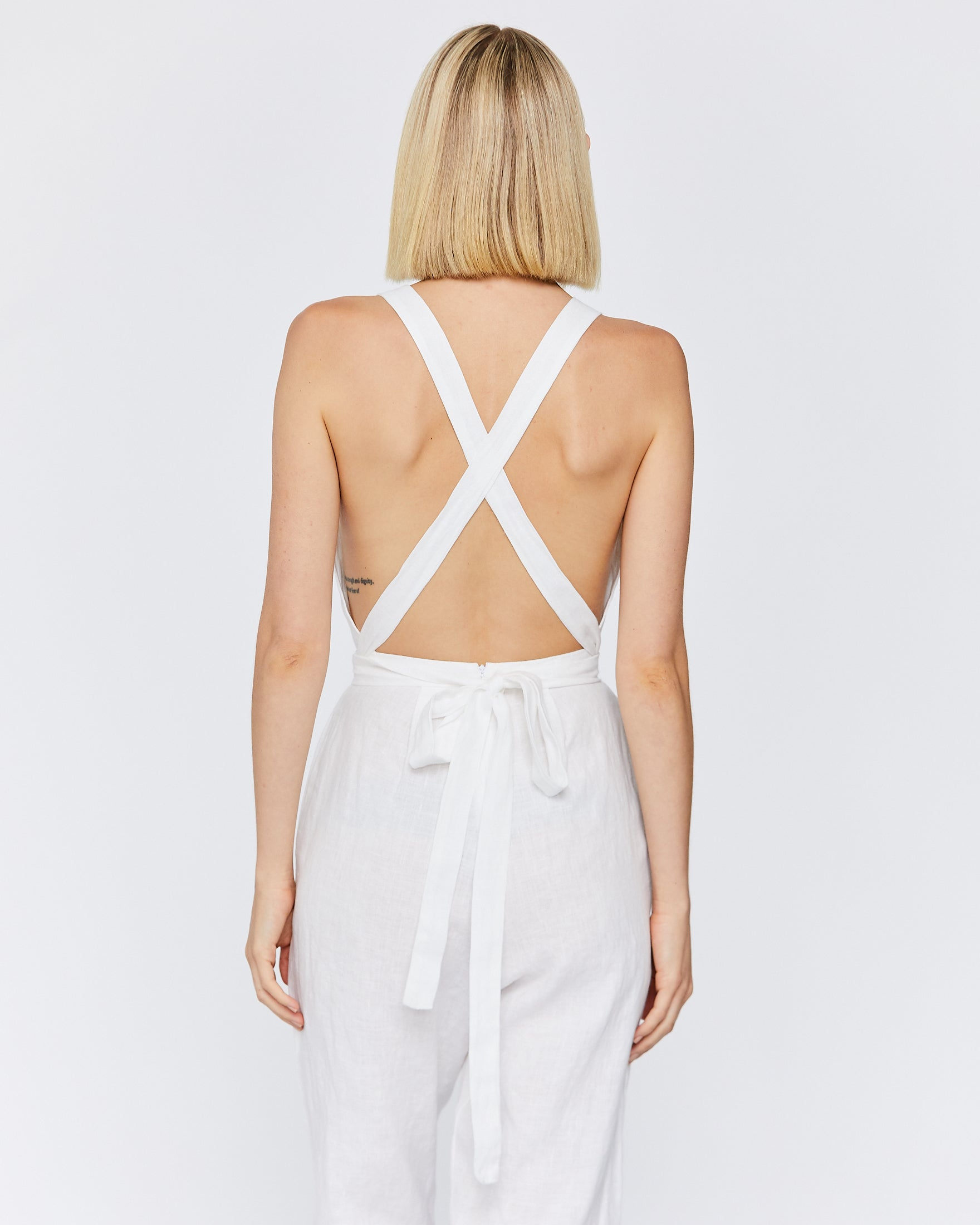 WREN JUMPSUIT - WHITE