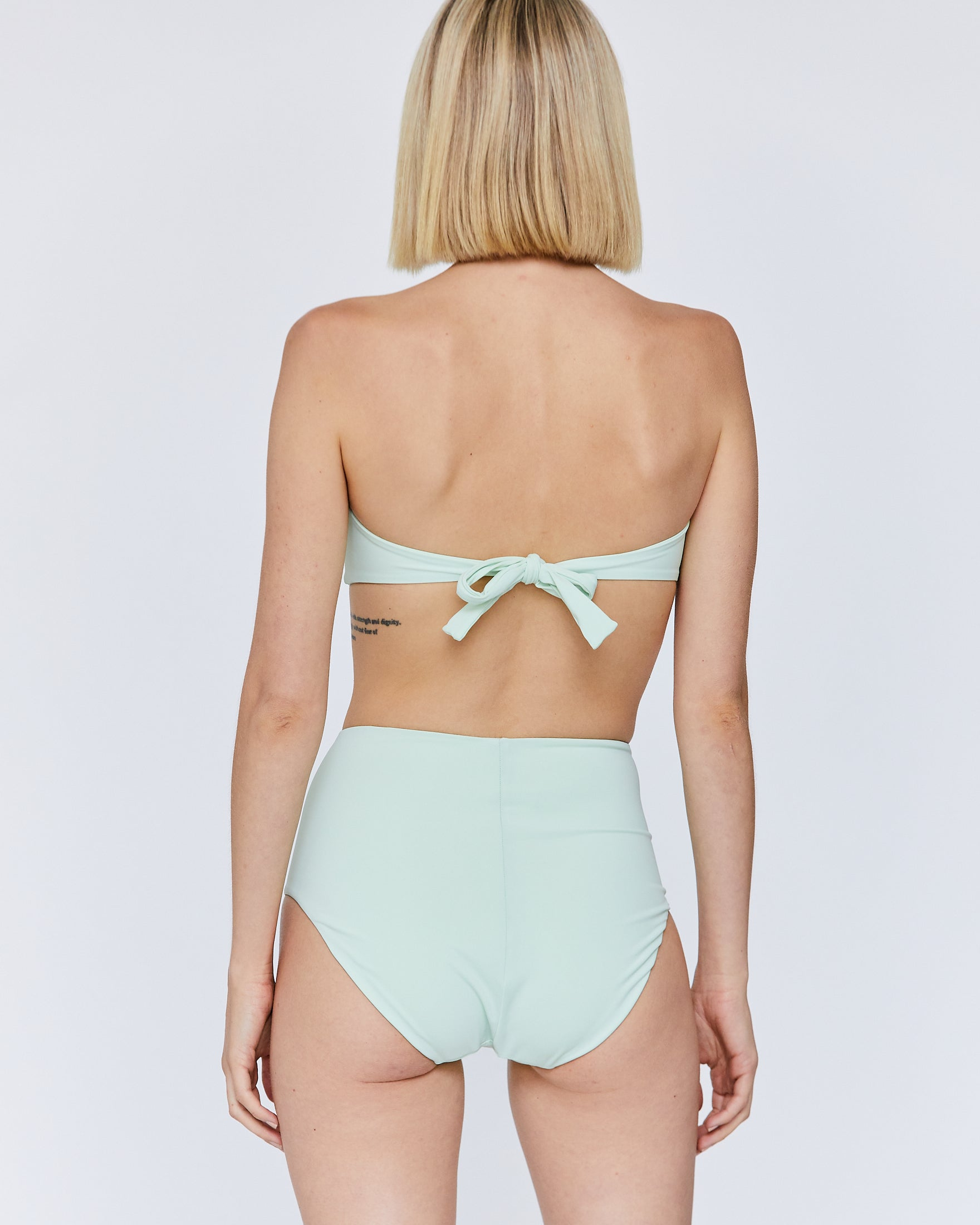 AUDREY BANDEAU TOP - SEA GLASS