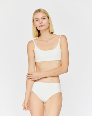 Load image into Gallery viewer, CARLA TANK BRALETTE - WHITE SAND