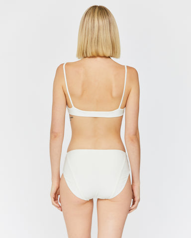 ZOEY HIPSTER BOTTOM - WHITE SAND