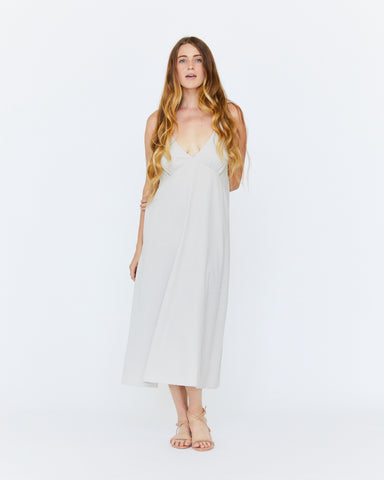 LEILA SLIP DRESS - DUNE