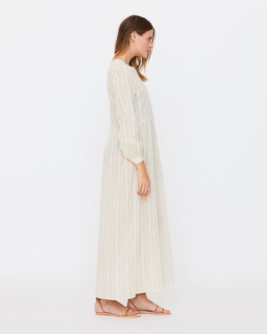 BLANCHE PRAIRIE DRESS - NATURAL