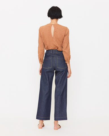 FINCH JEAN - DARK RINSE DENIM