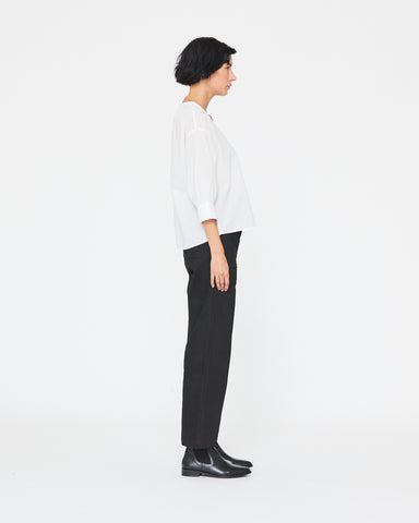LAUREN PRAIRIE BLOUSE - WHITE