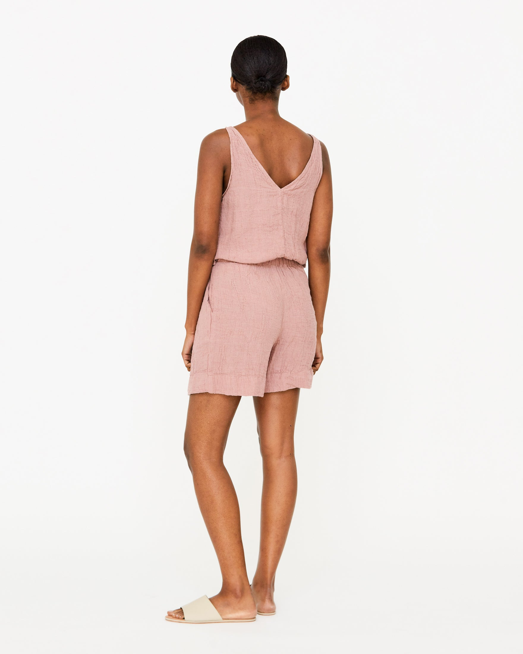 ROSALIN SHORT JUMPER - ROSE
