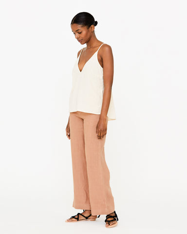 HARRIETTE SLIP TANK - NATURAL