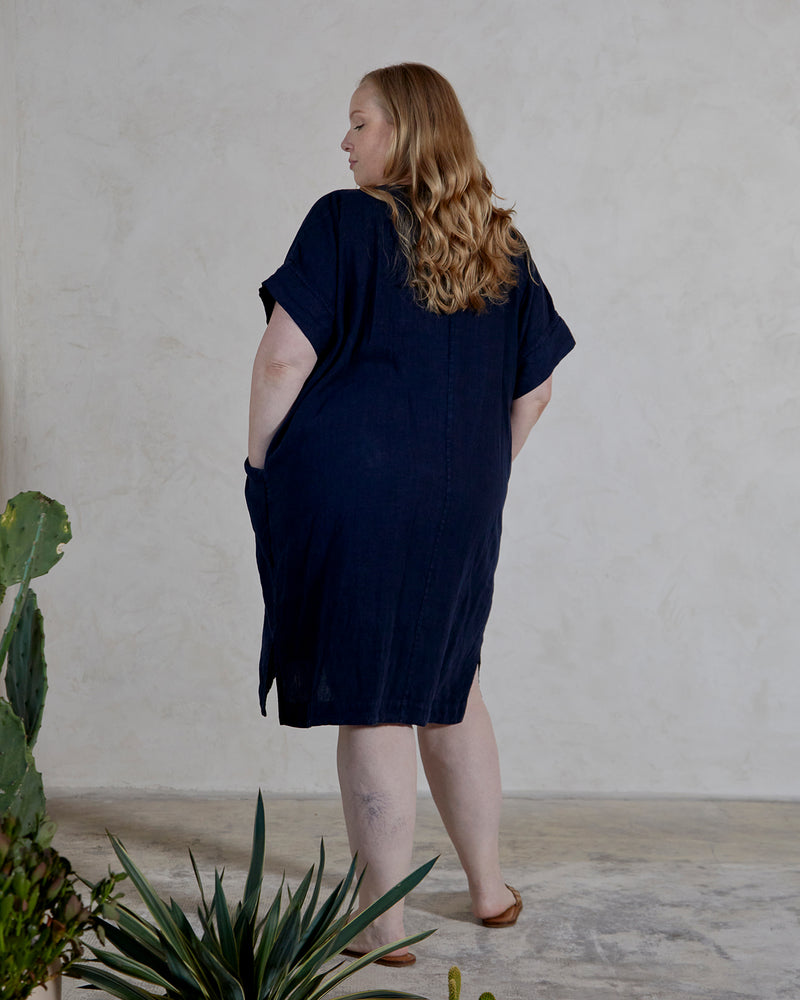 ALICE TUNIC - INDIGO