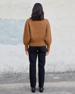 QUINN SWEATER - BUTTERSCOTCH