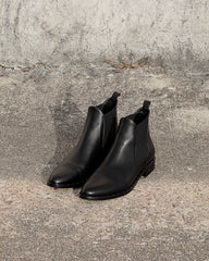 FREDA SALVADOR - SLEEK BOOT - BLACK CALFSKIN