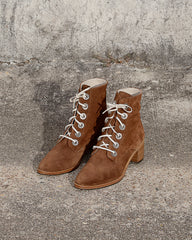FREDA SALVADOR - ACE BOOT - BROWN SUEDE