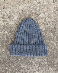 TAYLOR BEANIE - DENIM BLUE