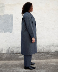 HEYDON DUSTER - RAILROAD STRIPE