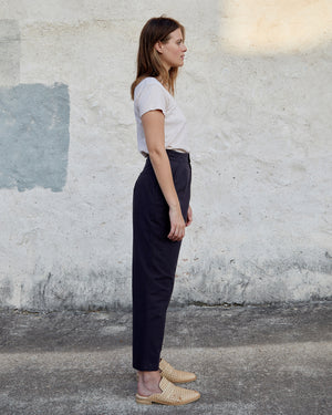 Load image into Gallery viewer, PIPER PANT - DARK CHARCOAL