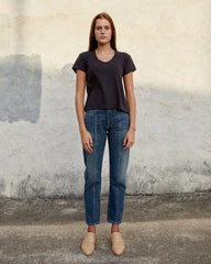 JANE TEE - WASHED BLACK