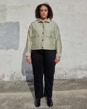 Load image into Gallery viewer, MORA MILITARY JACKET - SAND MOLESKIN