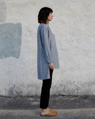 IRIS TUNIC - ATLANTIC PINSTRIPE