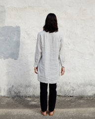 IRIS TUNIC - CLOUD PINSTRIPE