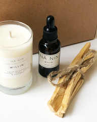 NA NIN - MEN'S GIFT SET - CANDLE & BEARD OIL BUNDLE