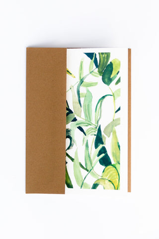 WUNDERKID CARDS - FOLIAGE GREEN