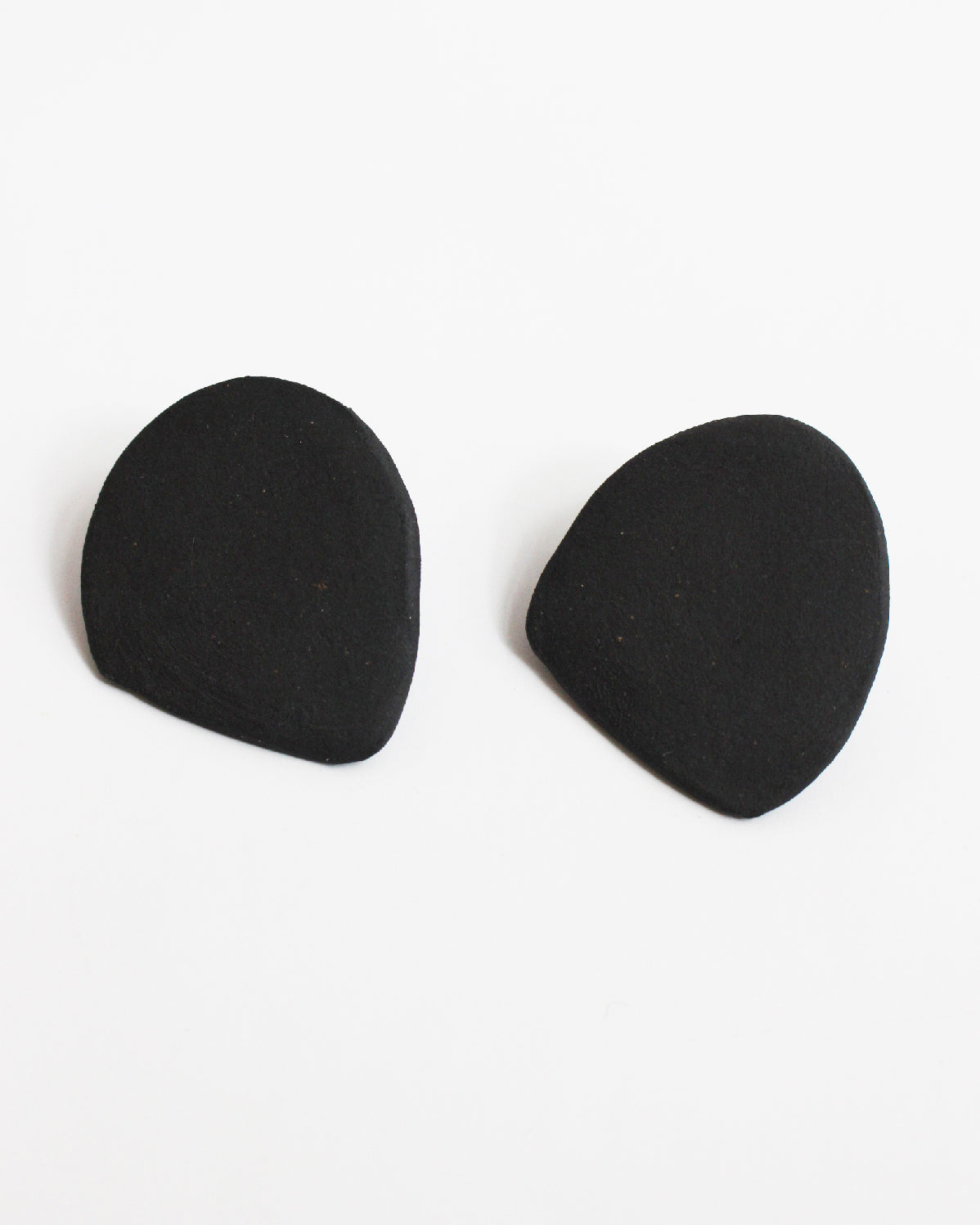 MOTHER OF GOD - MEDIUM EARRINGS - BLACK