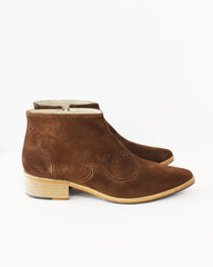 FREDA SALVADOR - ARROYO ANKLE BOOT - BROWN SUEDE