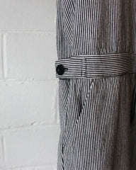 CHARLIE WORKWEAR JUMPER - MIDNIGHT STRIPE