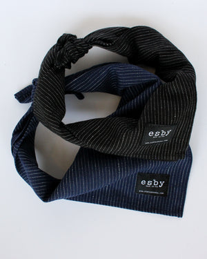 Load image into Gallery viewer, STRIPE BANDANA - NAVY