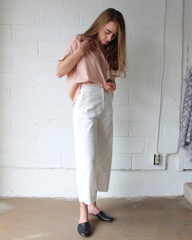 STELLA BUTTON DOWN - BLUSH
