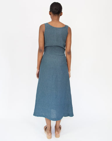 CASEY DRESS - VINTAGE INDIGO