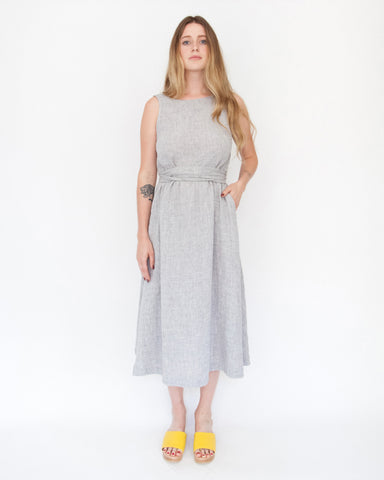 CASEY DRESS - NICKEL